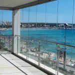cortinas de cristal en Mallorca