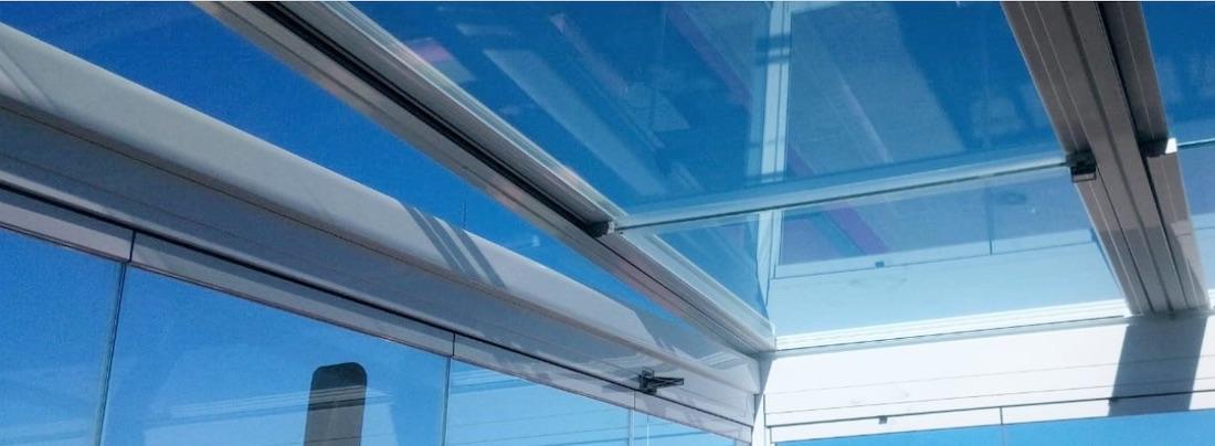 Instalación de techos de cristal en mallorca