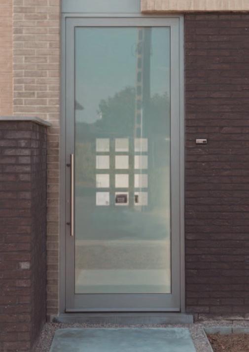 Puertas decorativas en vidrio