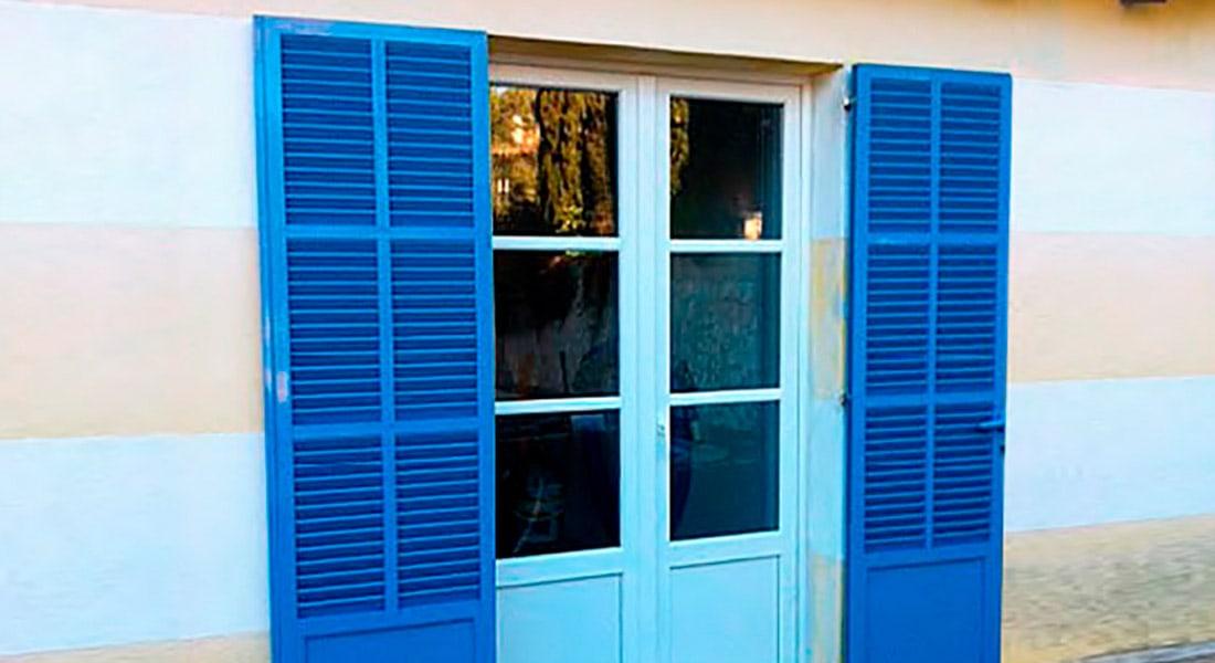 Majorcan shutters