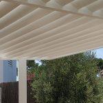 Pergola with fixed slats Mallorca