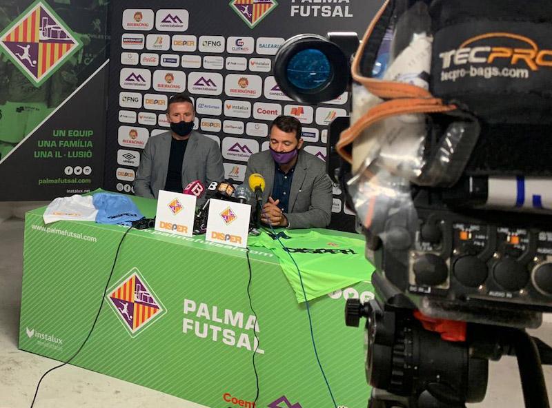 Disper nuevo patrocinador del Palma Futsal