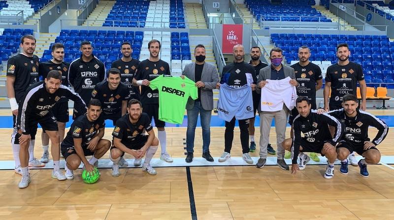Disper new Palma Futsal Sponsors